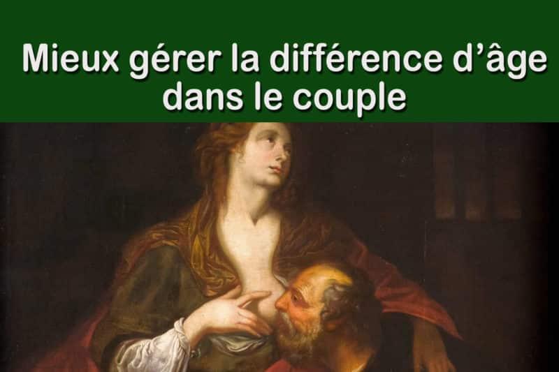 You are currently viewing Différence d'âge dans le couple, mieux la gérer