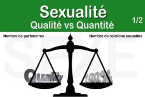Read more about the article Comparaison entre qualité et quantité autour du sexe – 1ère partie