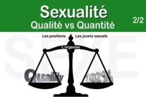 Read more about the article Suite de la comparaison entre quantité et qualité – 2nd partie