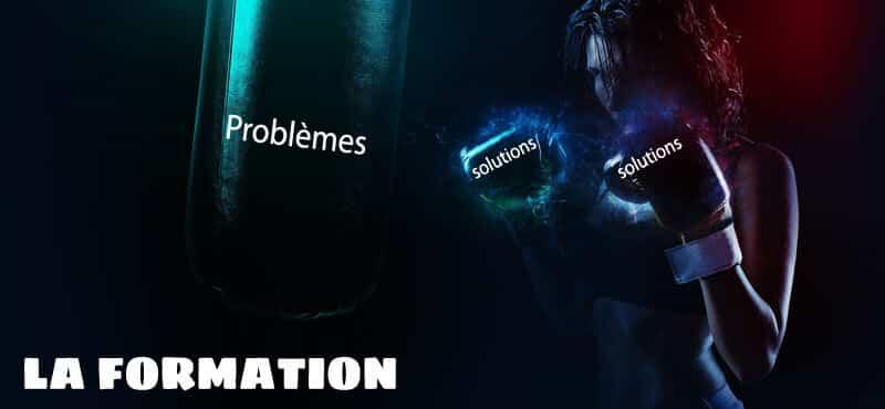 Affronter les problèmes par la formation