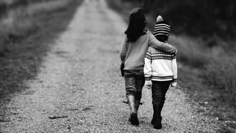 les premières peurs chez les enfants amoureux