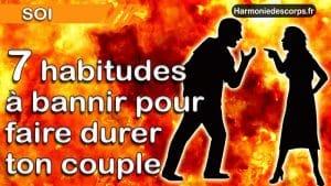 7 mauvaises habitudes à bannir pour faire durer ton couple