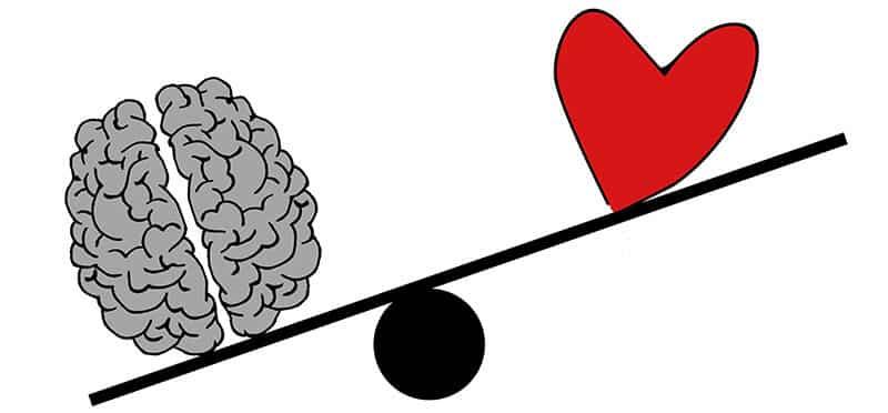 balance entre sentiments et émotions