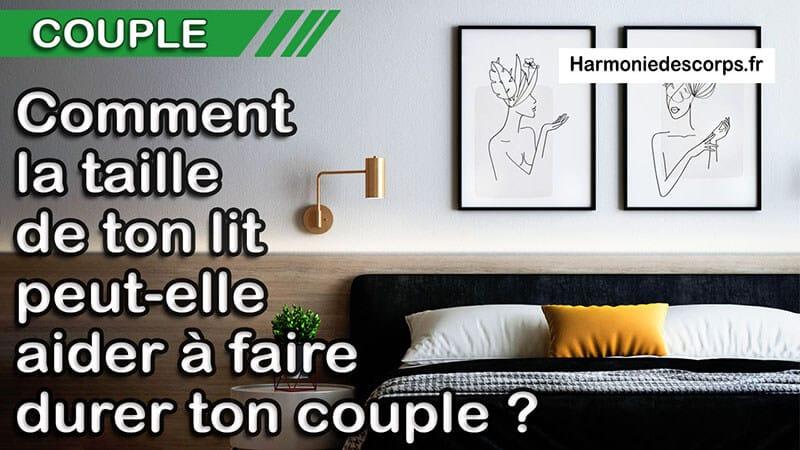 You are currently viewing Comment la taille de ton lit et l'aménagement de ta chambre à coucher peuvent-ils aider ton couple ?