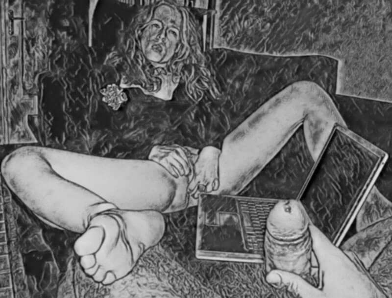 masturbation mutuelle par l'autostimulation