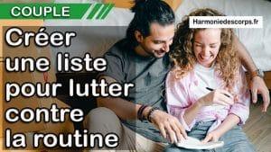 Read more about the article Une liste de souhaits de couple pour lutter contre la routine – la wishlist
